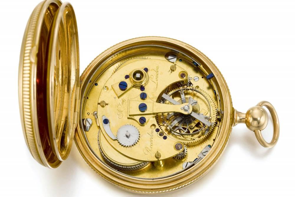 1,7 million d'euros pour un Tourbillon Breguet ayant appartenu à Georges III 20547812