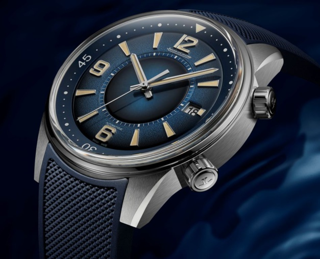 Jaeger - Jaeger-LeCoultre Polaris Date cadran bleu fumé 36675011
