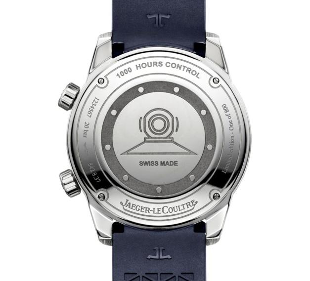 Jaeger - Jaeger-LeCoultre Polaris Date cadran bleu fumé 36675012