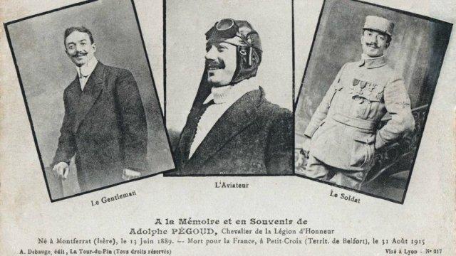 Célestin Adolphe Pégoud : As de l'aviation, gentleman et héros de la 1ère guerre Les_3_10