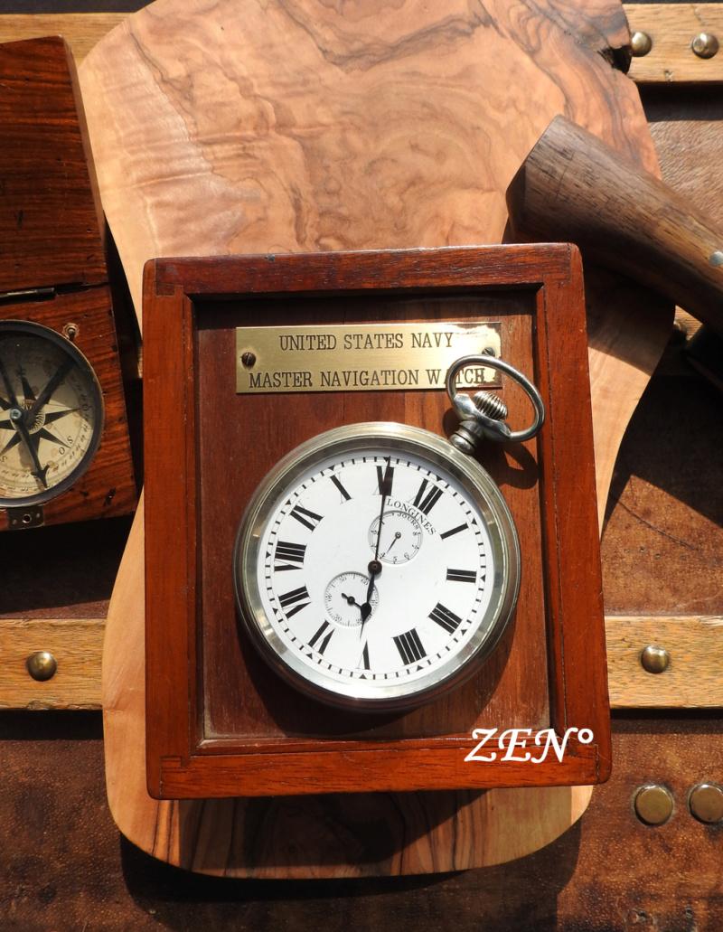 L'épopée des premières montres à bord des navires militaires Longin32