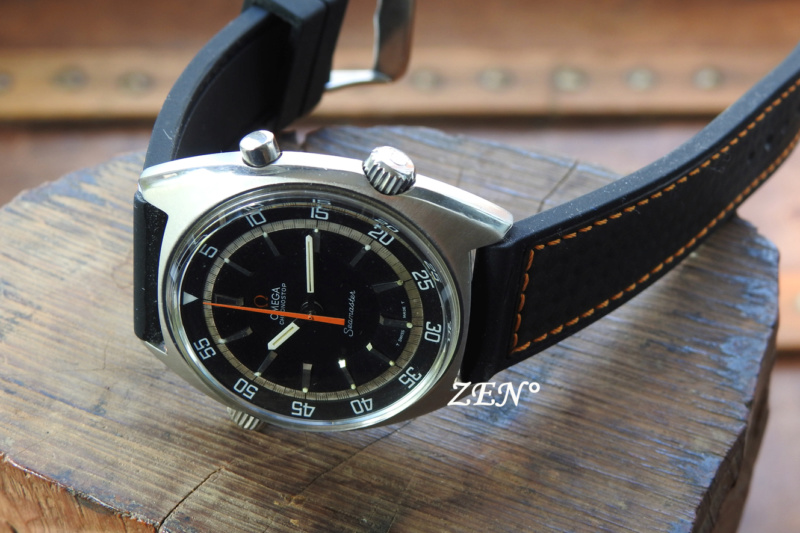 « Chronostop » le chronographe atypique d'Omega  Omega_64