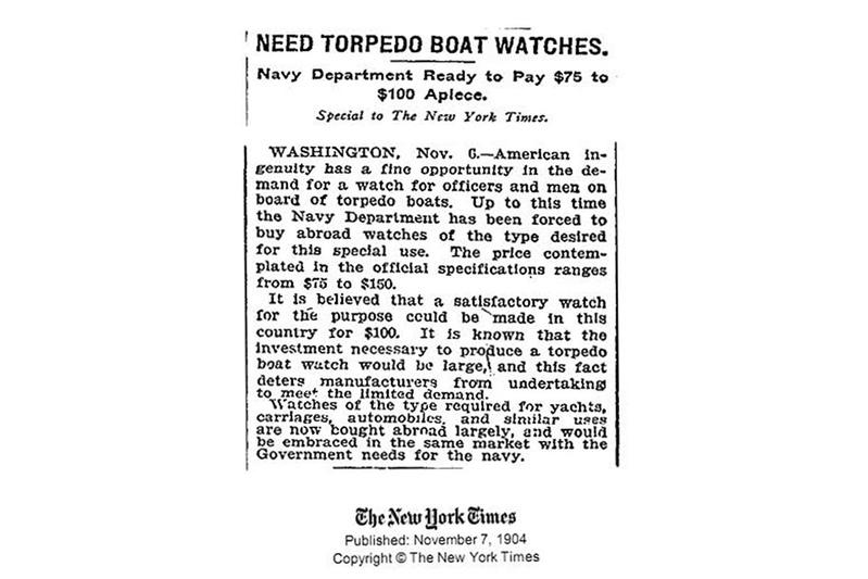 L'épopée des premières montres à bord des navires militaires P26_an10