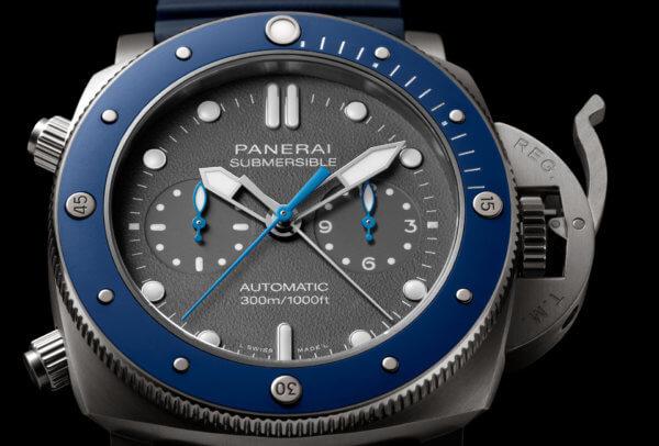 panerai - SIHH 2019 - Panerai Submersible Chronographe Guillaume Néry Panera10