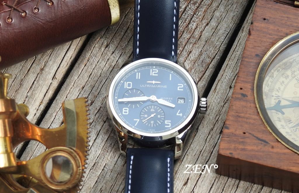 ULTRAMARINE Morse 9141B - Conçue pour ceux qui aiment les vraies montres Ultram10