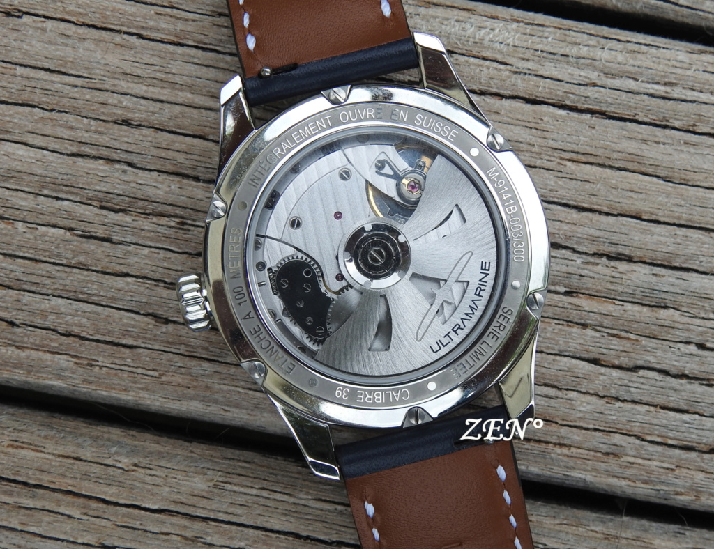 ULTRAMARINE Morse 9141B - Conçue pour ceux qui aiment les vraies montres Ultram11