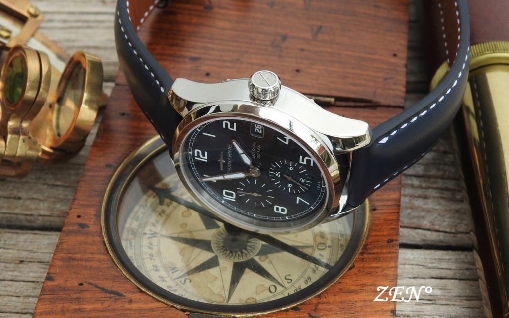 ULTRAMARINE Morse 9141B - Conçue pour ceux qui aiment les vraies montres Ultram12