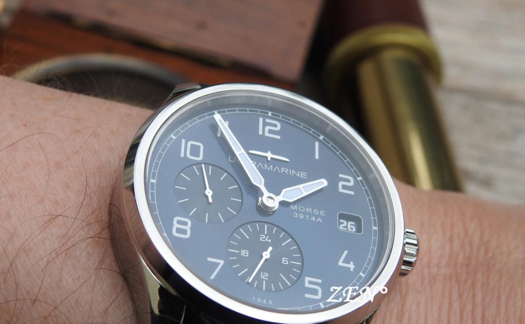 ULTRAMARINE Morse 9141B - Conçue pour ceux qui aiment les vraies montres Ultram13