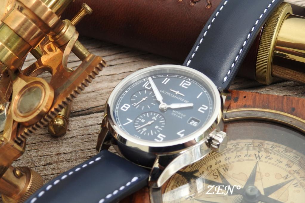 ULTRAMARINE Morse 9141B - Conçue pour ceux qui aiment les vraies montres Ultram14