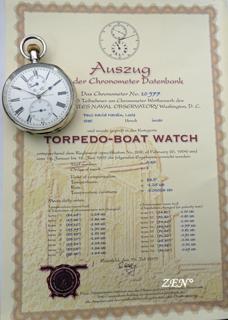 L'épopée des premières montres à bord des navires militaires Ulysse38
