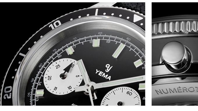 Yema Speedgraf : Le choix intelligent d'un calibre Seiko NE86 Xvmb1c10