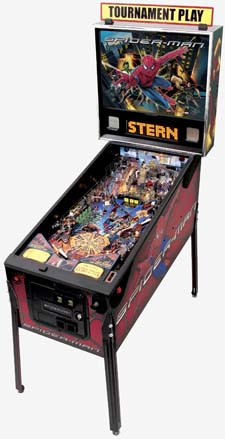To pinball lovers: Spider-Man Spider10