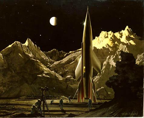 Les premieres fusées du 20eme siecle Conque10