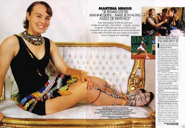 (Elle est à nouveau) Retraitée : Martina Hingis - Page 23 Martin90