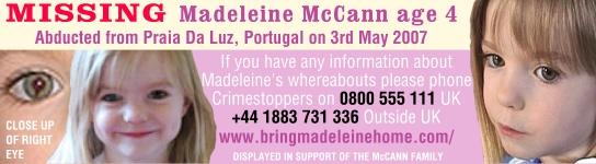 AVIS DE RECHERCHE : MADELEINE McCanne Maddy510