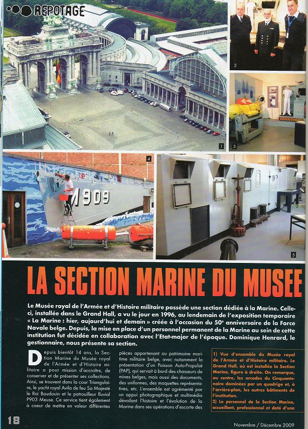 Reportage sur la section Marine du Muse de l'Armee Docume10