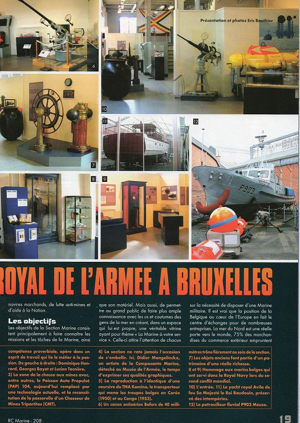 Reportage sur la section Marine du Muse de l'Armee Docume11