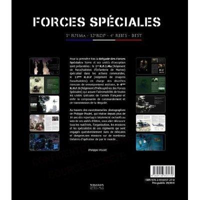 Forces Spéciales Terre : 1er RPIMA, 13e RDP, 4e RHFS, BFST Forces10
