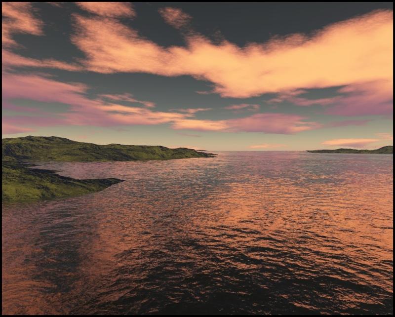 Paysages en 3D Mer10