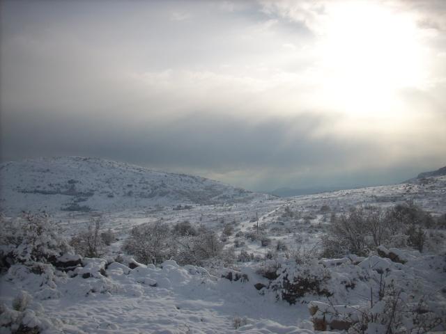 notre village sous la neige. Puy_de14