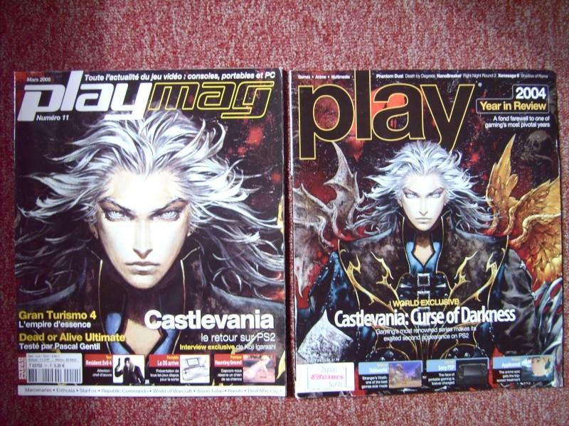 Littérature Castlevania par SAS : collection de couvertures! 1010