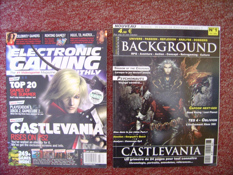 Littérature Castlevania par SAS : collection de couvertures! 1110