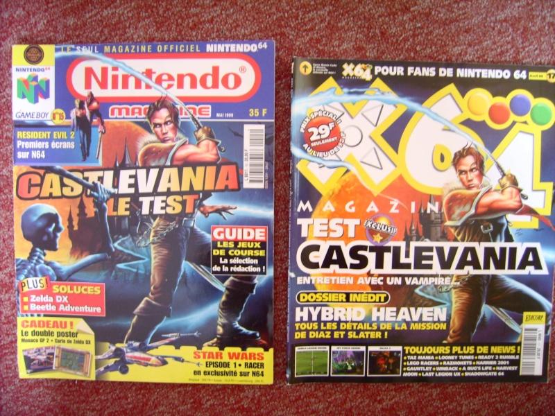 Littérature Castlevania par SAS : collection de couvertures! 210