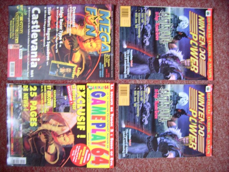 Littérature Castlevania par SAS : collection de couvertures! 310