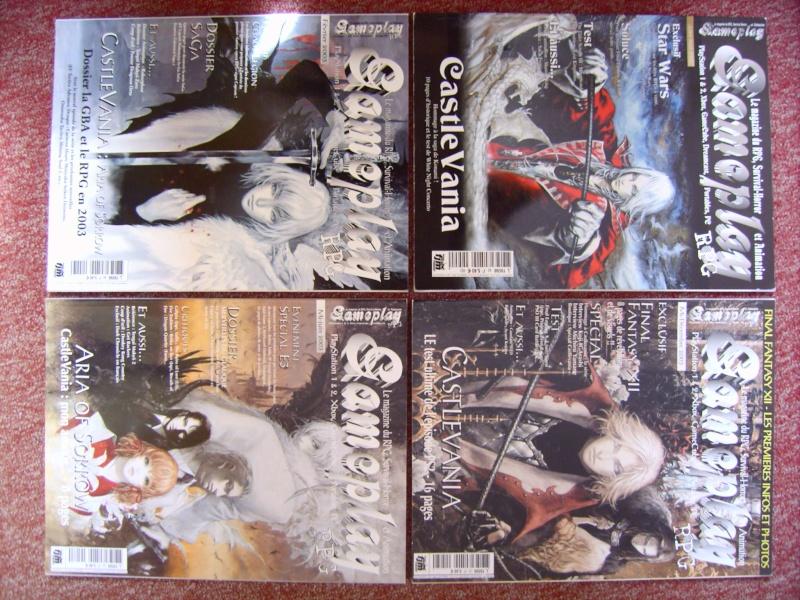 Littérature Castlevania par SAS : collection de couvertures! 910