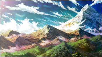 Les montagnes Kazane