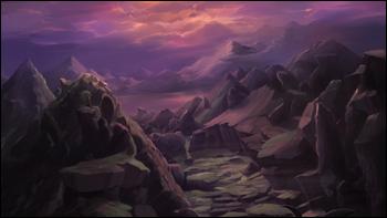 Les monts de Palon