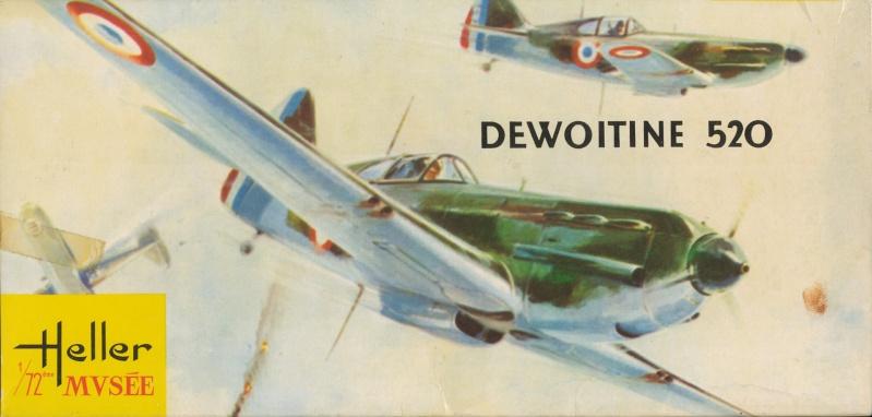 Dewoitine D. 520, Heller de 1966 Img_0051