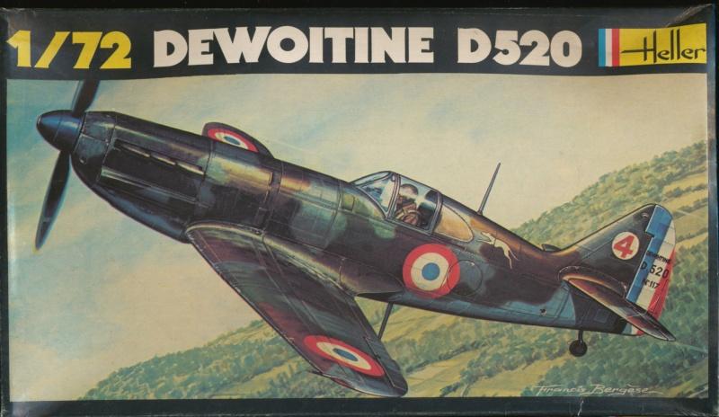 Dewoitine D. 520, Heller de 1966 Img_0053