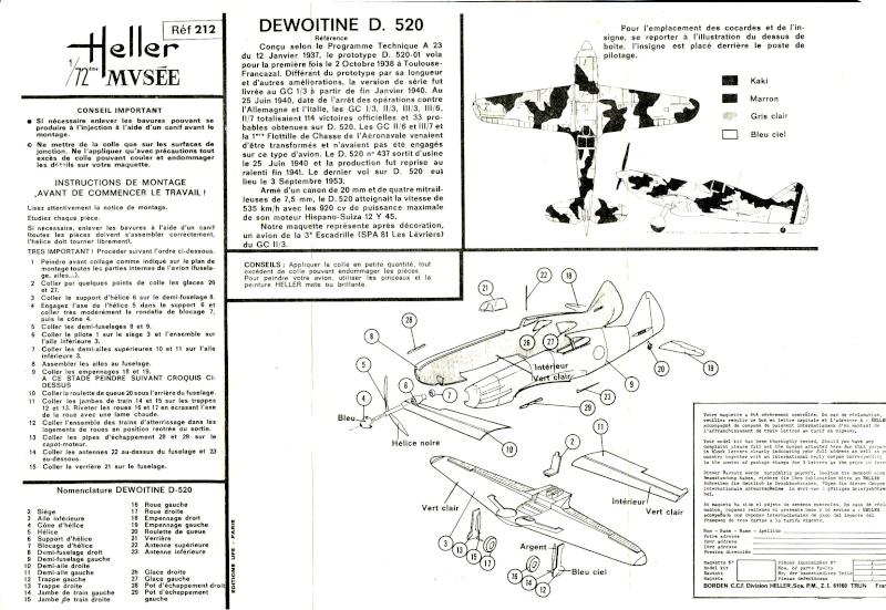 Dewoitine D. 520, Heller de 1966 Img_0055