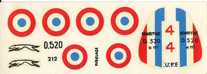 Dewoitine D. 520, Heller de 1966 Img_0056
