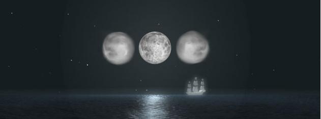 Les trois Lunes