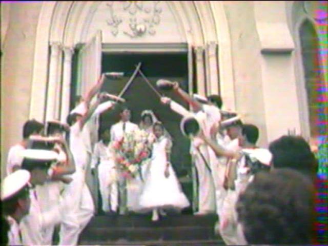 [Les traditions dans la Marine] Mariage en tenue Cap00710