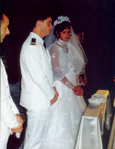 [Les traditions dans la Marine] Mariage en tenue Mariag10