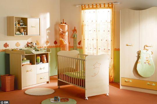 Best Chambre Bebe Orange Et Vert de Design - Photos et idées ...