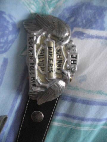 chaussures de sport 02fc7 70463 boucle ceinture johnny hallyday