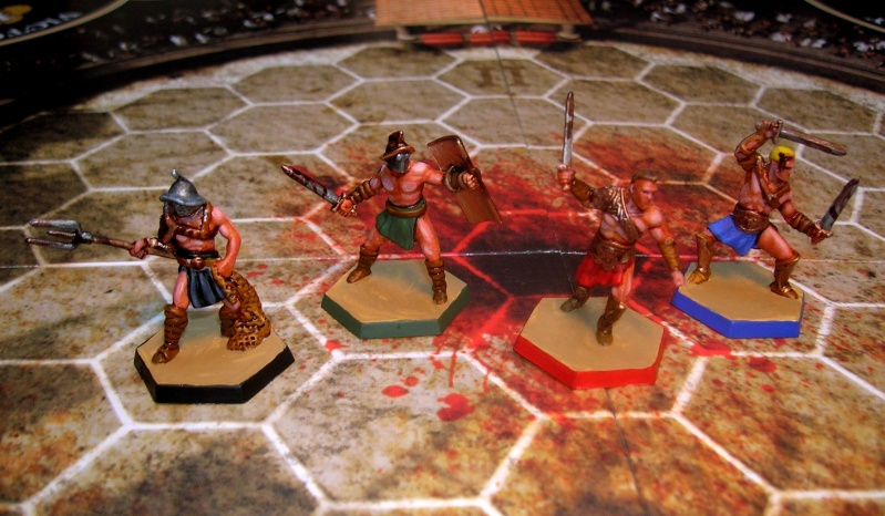 Spartacus, a game of blood and treachery Gladia10