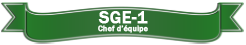 SGE-1 Chef d'équipe