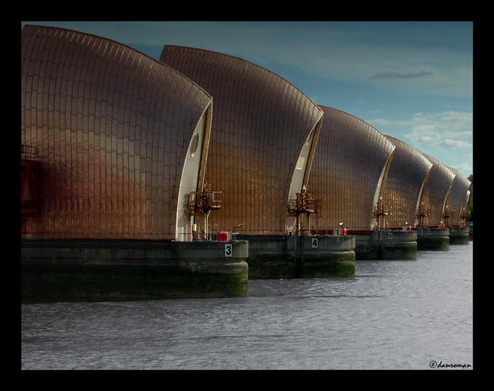 Thames Barrier, Londres - Angleterre 37903810