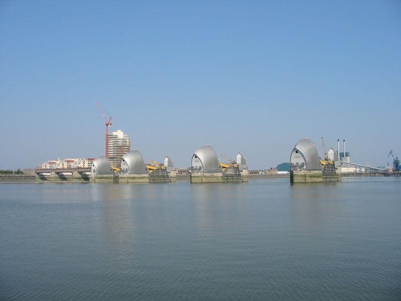 Thames Barrier, Londres - Angleterre Thames10