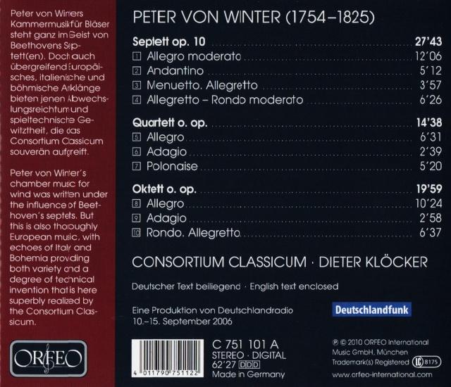 Peter von Winter (1755-1825) Back18