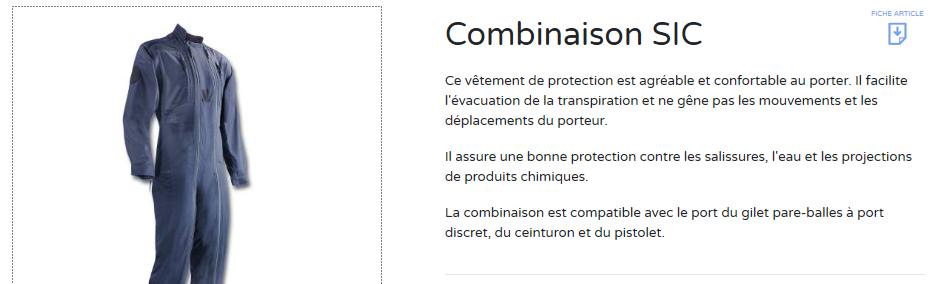 Combinaison de PSIG Combi10