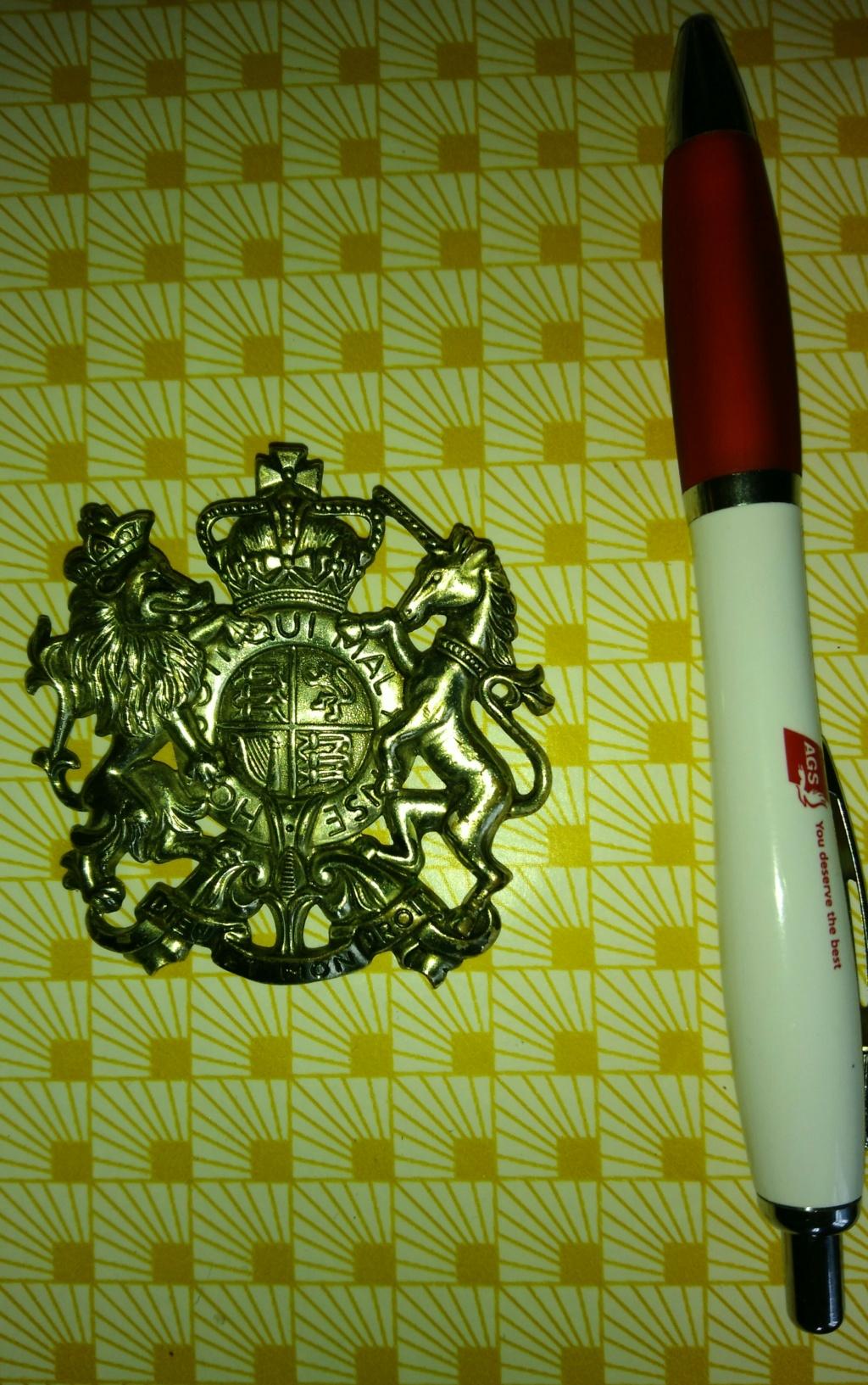 insigne anglais général service corps Img_2030