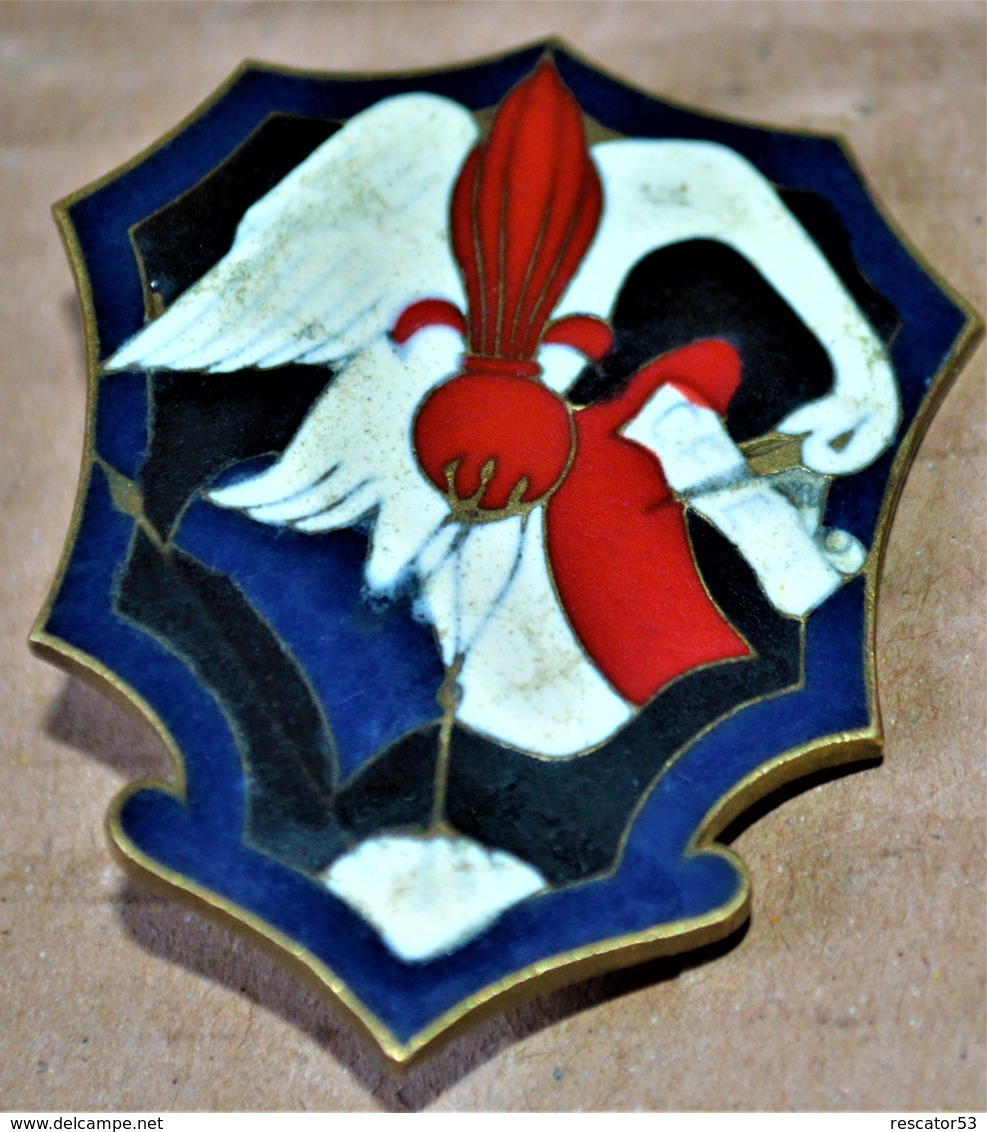 insigne GFET, la gendarmerie en Indochine Inisgn10