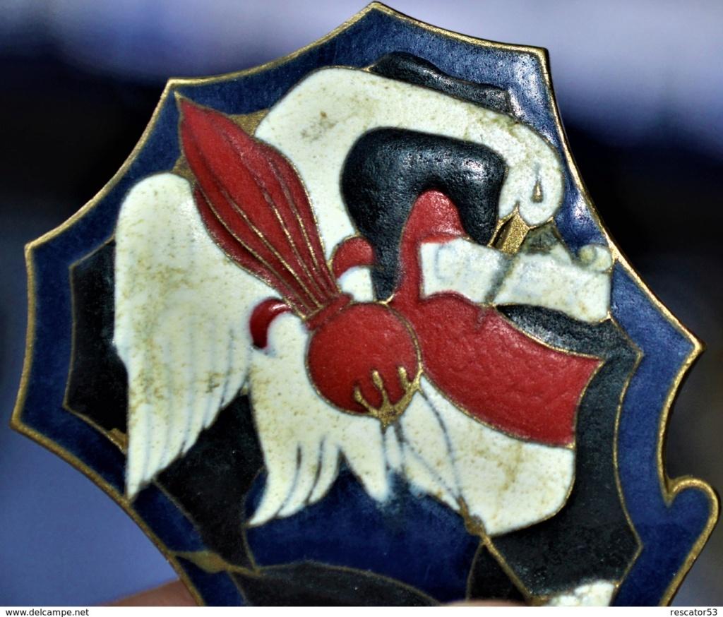 insigne GFET, la gendarmerie en Indochine Inisgn11
