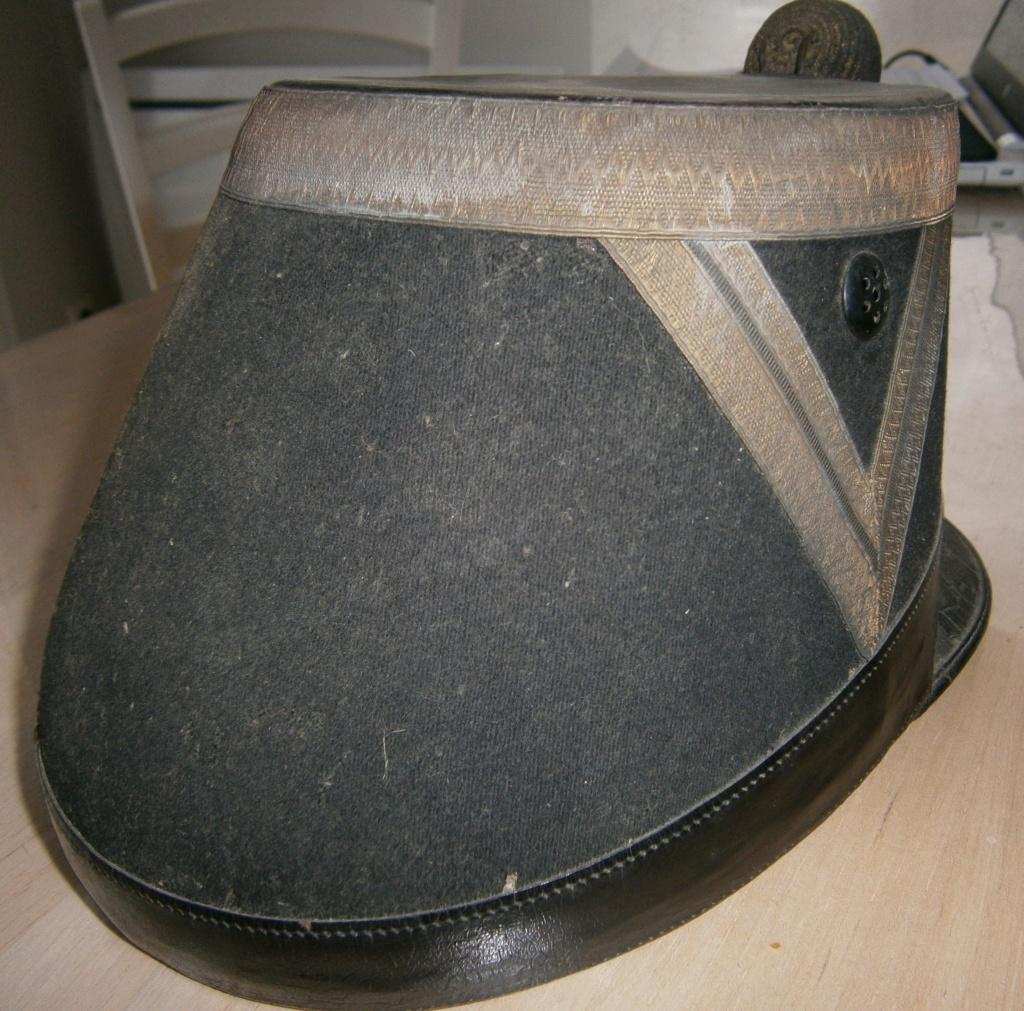 shako artillerie 1872 à évaluer P3050015